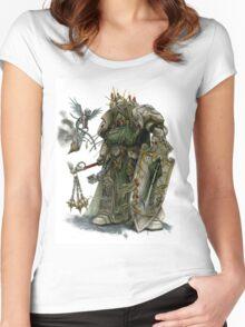 Dark Angel Deathwing Knight Women's Fitted Scoop T-Shirt