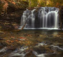 Wyandot Falls (Head on) by Aaron Campbell