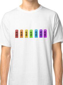 Rainbow Phone boxes  Classic T-Shirt
