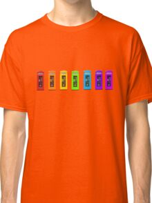 Rainbow Phone boxes  Classic T-Shirt