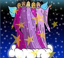 Angels On High~(C) by Lisa Michelle Garrett