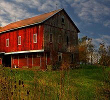Red Barn by Sharon Batdorf