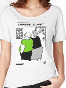 All You Can Eat For A Tenner. Women's Relaxed Fit T-Shirt