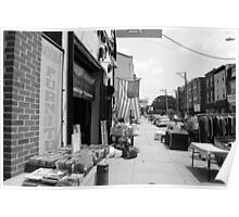 Fleamarket - South Street Philly Poster