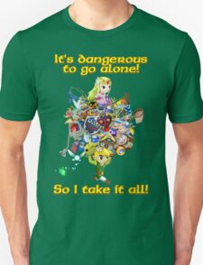 Link takes it all Unisex T-Shirt