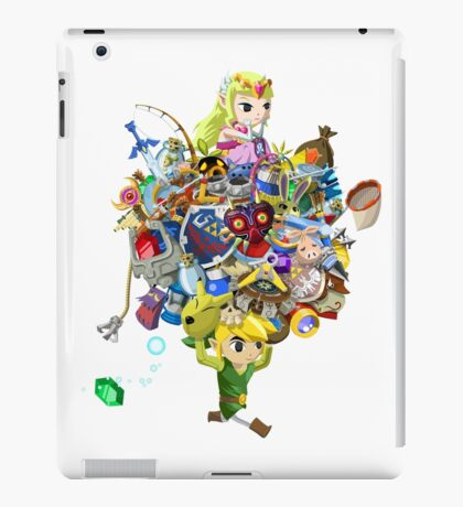 Link takes it all (w/o text) iPad Case/Skin