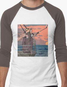 Titanic selfie Men's Baseball ¾ T-Shirt