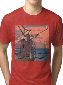 Titanic selfie Tri-blend T-Shirt