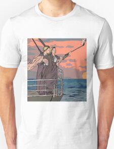 Titanic selfie Unisex T-Shirt