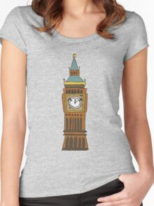 Cute Big Ben Tee Women's Fitted Scoop T-Shirt