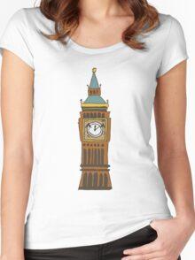 Cute Big Ben Tee Women's Fitted Scoop T-Shirt