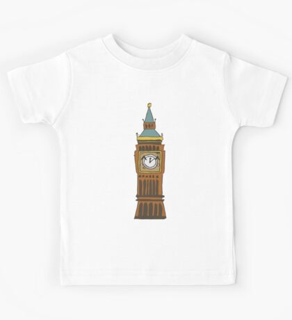 Cute Big Ben Tee Kids Tee