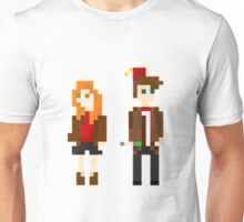 Eleven and Amy Pixel Unisex T-Shirt