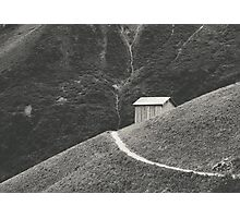 HILLSIDE HUT Photographic Print