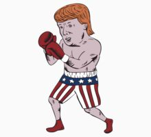 Donald Trump 2016 Republican Boxer by retrovectors