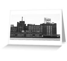 Domino Sugar - Baltimore MD Greeting Card
