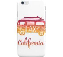 California bus iPhone Case/Skin