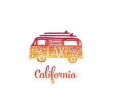 California bus Photographic Print