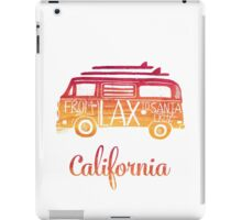 California bus iPad Case/Skin