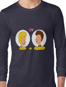 Beavis and Butthead MTV shirt Long Sleeve T-Shirt