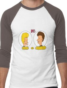 Beavis and Butthead MTV shirt Men's Baseball ¾ T-Shirt