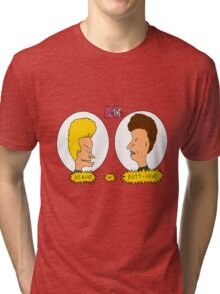 Beavis and Butthead MTV shirt Tri-blend T-Shirt