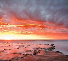 splitting sky by Glen Barton