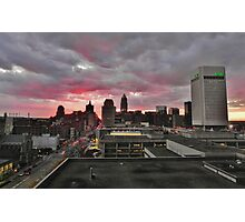 Downtown Cleveland Skyline  Photographic Print