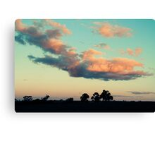 saturday eve Canvas Print
