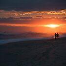 Atlantic sunset by jeffrae