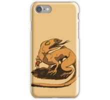 Boy and Lizard iPhone Case/Skin