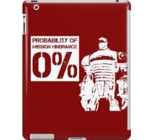Liberty Prime Mission Hindrance 0% (white color) iPad Case/Skin