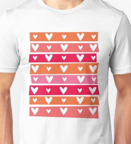 Washi Hearts Unisex T-Shirt