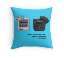 Juicy - Super Nintendo Sega Genesis Throw Pillow