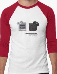 Juicy - Super Nintendo Sega Genesis Men's Baseball ¾ T-Shirt