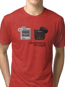 Juicy - Super Nintendo Sega Genesis Tri-blend T-Shirt