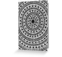 Black and White #3 Greeting Card