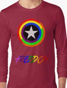 Captain Freedom Long Sleeve T-Shirt