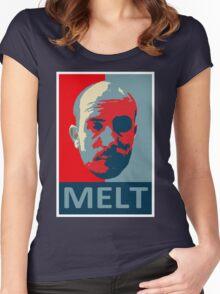 Melt. Women's Fitted Scoop T-Shirt