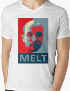 Melt. Mens V-Neck T-Shirt