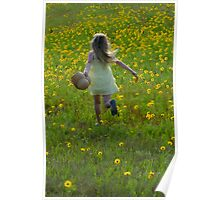 Skipping Through the Daisies! Poster
