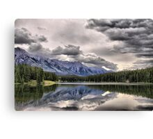 Cascade Mountain & Johnson Lake Canvas Print