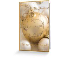 Remember, This December, Greeting Card