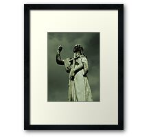the righteous  Framed Print