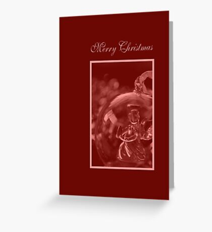 Merry Christmas - Christmas Angel Card Greeting Card