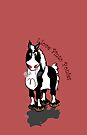I love Pinto Ponies by Diana-Lee Saville