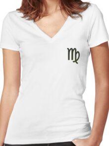 Virgo - The Virgin Women's Fitted V-Neck T-Shirt