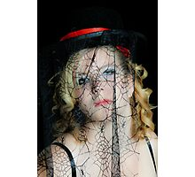 Tangled Behind the Web She Weaves Photographic Print