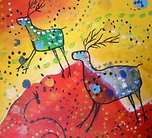 Deer Trails by Kay Hale
