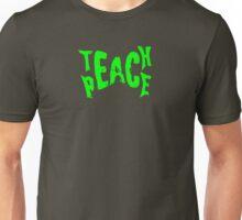 Teach Peace Design Unisex T-Shirt
